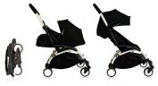 Babyzen YoYo+ Stroller Bundle (Yoyo+ Stroller, Newborn Pack and 6+ Colour Pack) White/Black
