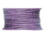 Waxed Cotton Cord Lavender Light Purple 1mm Made in USA