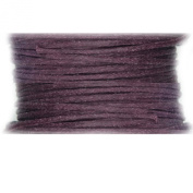 Waxed Cotton Cord Plum Purple 1mm Made in USA