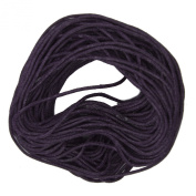 Waxed Cotton Cord Purple 1mm Made in USA