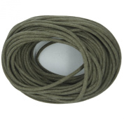 Waxed Cotton Cord Stone 2mm Made in USA
