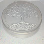 Flexible Resin Mould Sacred Geometry Tree of Life 5.1cm Diameter X 1.3cm Deep