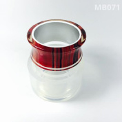 Alamould Moulds Clear Silicone Mould for Creating a Inlay Bangle/Bracelet