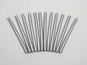 GlueSticksDirect Silver Metallic Glue Stick mini X 10cm 12 Sticks