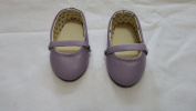 Baby Doll Pretend Play Doll Ballet Flats With Polka Dots Lavendar, Assorted Styles and Colours