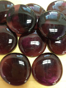 Sun and Moon Glass Gems/ Violet Glass Gems, Large