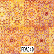 Decopatch Decoupage Printed Paper FDA640 Casablanca Orange