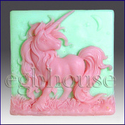 Elissa the Unicorn Queen - Detail of High Relief Sculpture - Silicone Soap/polymer/clay/cold Porcelain Mould