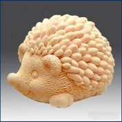 Hedgehog Mother- 3d Soap/candle/polymer/clay/cold Porcelain Silicone Mould