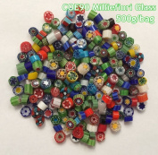 500g/bag Milliefiori Glass COE90 Microwave Kiln Accessories For DIY Glass Jewellery