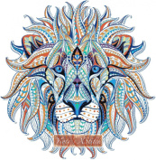 Abstract Lion Counted Cross Stitch Kit