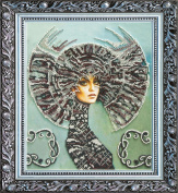 "Beaded DIY Embroidery Kit ""Selena"""