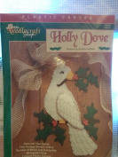 The needlecraft Shop Holly Dove 7 Count Plastic Canvas