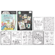 AdornIt ArtPlay Colouring Book-Cirtter Friends