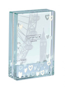 Spaceform Dinky Frame Lots of White Hearts 1257