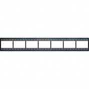 Cheery Lynn Designs B677 Film Strip border Scrapbooking Die Cuts