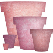 Cheery Lynn Designs XL-24 Nested Flower Pots Scrapbooking Die Cuts
