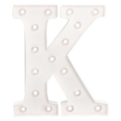 American Crafts Heidi Swapp 25cm Marquee Letters Letter K