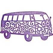 Cheery Lynn Designs B655 The Groovy Bus Scrapbooking Embellishments