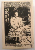 Stampington & Co Little Girl At Recess Par Avion Mail Wooden Rubber Stamp #K5532