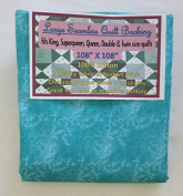 Quilt Backing, Large, Seamless, C47603-201, Teal
