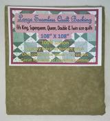 Quilt Backing, Large, Seamless, C44395-707, Medium Brown