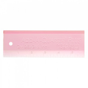 Quilter's Add A Quarter PLUS Ruler 5.1cm x 15cm Pink