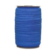 100 Yards of Sapphire Blue 1.6cm Fold Over Elastic - ElasticByTheYardTM