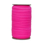 100 Yards of Neon Pink 1.6cm Fold Over Elastic - ElasticByTheYardTM