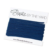 5 Yards of Navy - 0.3cm Skinny Elastic - ElasticByTheYardTM