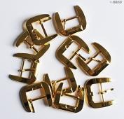 H6303 Metal 28mm Shoe Buckle - 5 pairs