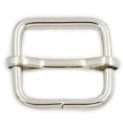 20 Pcs 20mm Metal Adjuster Triglides Slides Webbing Belt Strap Srtip Nickle