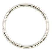 "5 Pcs 76mm 3"" Metal O-rings O Rings Non Welded Nickel"