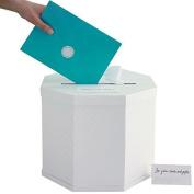 Martha Stewart Gift Card Box, White Eyelet by Master Chef