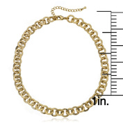 Girl's 14k Goldplated Link Chain Necklace