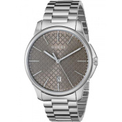 Gucci Men's YA119540.5lz G-Timeless Brown Dial Stainless Steel Watch