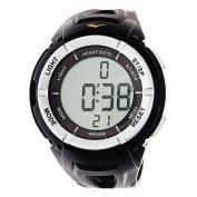 Everlast HR3 B Heart Rate Monitor Digital Sport Black Black Watch