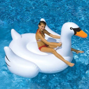 Giant Swan Inflatable Ride-On Pool Toy