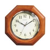 Octagon Clock - Oak