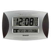 Ashton Sutton SPC1005WG Sharp Atomic Weather Wall Clock