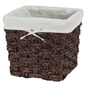 Chunky Weave 2 Storage Crate - Brown