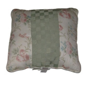 Chris Madden Catarina Square Floral Throw Pillow Pretty Flowers Accent Cushion