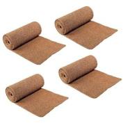 (Set/4) Ice Carpet Mats - Non Slip Walkway Winter Weather Snow Safety