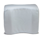 Memory Foam Knee Pillow - Includes Soft Removable Cover - Helps Relieve Lower Back, Leg, and Knee Pain