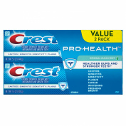 Crest Pro-Health Original Clean Toothpaste Twin Pack, Mint, 150ml