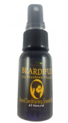 Beardiful Beard Growth and Repair Oil Thickens Beard and Helps to Regrows Patchy or Thin Spots - All Natural with Jojoba Oil, Argan Oil & Coconut Oil