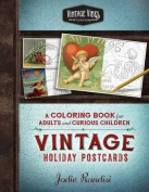 Vintage Holiday Postcards Coloring Book