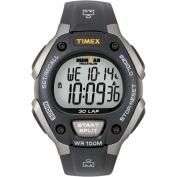 Timex T5E901 Ironman Triathlon' 30-lap Grey and Black Athletic Ironman Triathlon' 30-lap Grey and Black Athletic Watch
