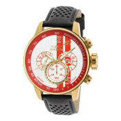 Invicta Men's 19906 S1 Rally Quartz Multifunction White, Red Dial Watch
