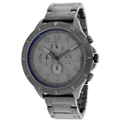 Armani Exchange Men's AX530mRomulous' Chronograph Grey Stainless Steel Watch